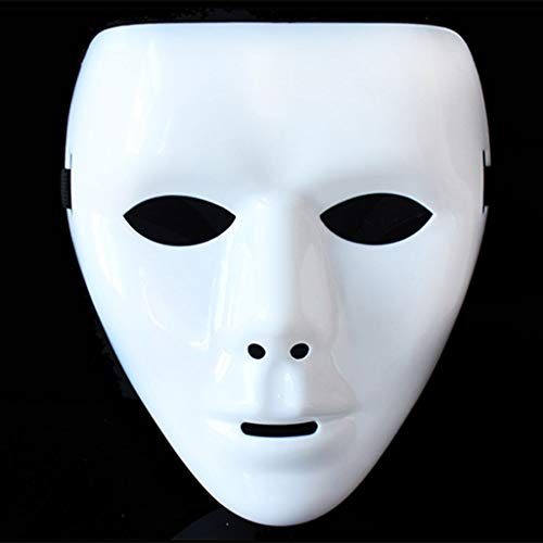 Mask- Maske Cosplay Kostüm Party Halloween Vollgesichts Hockey Airsoft Net Gläser
