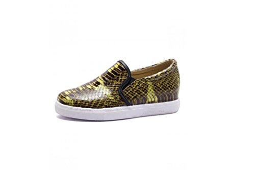 Beauqueen Pumps Freizeit Lazy Schuhe Damen Frühling und Sommer Flat Loafers 34-43 Damen Freizeitschuhe Yellow
