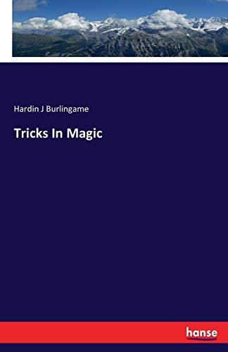 Tricks In Magic