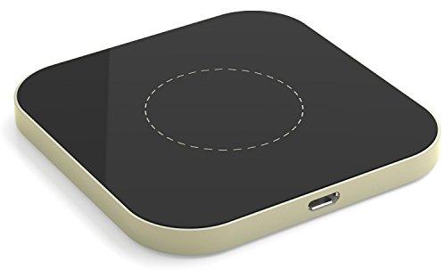 Base Station Unit (Qi Wireless Ladegerät Induktive Ladestation für Galaxy S7 / S7 Edge / S6 / S6 Edge, Nexus 4 / 5 / 6 / 7, HTC 8X, LG G3 und alle anderen Qi-fähigen Geräte)