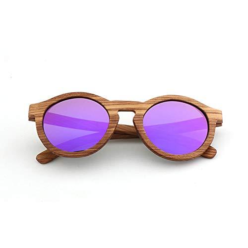 DelongKe Retro Sonnenbrille Rot,UV400 Schutz Für Damen & Herren Autofahren Laufen Radfahren Angeln Golf Federscharnier Für Herren Und Damen,Purple