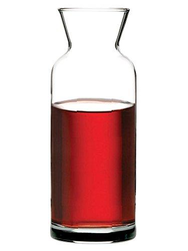 Pasabahce 43824–caraffa in vetro da 1,25litri, per acqua vino succhi latte, altezza ~ 25cm–gastronomia.