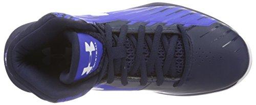 Under Armour Ua Bgs Jet, Scarpe da Basket Bambino Blu (Blau (TRY/MDN/WHT 401))