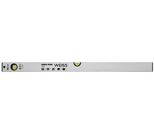 ALU-WASSERWAAGE WEISS NIVEAU NORM 50