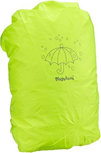 Playshoes Regenhülle/-schutz, Sicherheitshülle in auffälliger Signalfarbe, geeignet für Schulranzen und Rucksäcke, neongelb