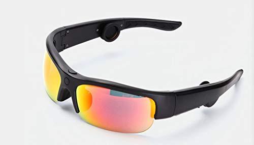 Smart Touch Knochenleitung Bluetooth-Brille, Bluetooth Stereo Kopfhörer, verhindern Blendung und UV-Objektive, geeignet für Laufen, Outdoor, Radfahren, Fahren,Multicolored