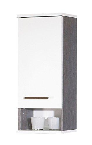 Schildmeyer 118029pensile, 30x 70,5x 20,5cm, bianco/frassino grigio decorazione