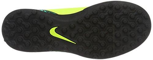 Nike Junior Hypervenom Phade Ii Tf, Chaussures de Football Amricain Mixte Enfant, Blanc Jaune (Volt/Black-Hyper Turq-Clear Jade)