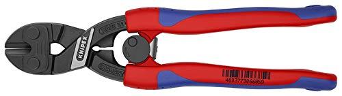 KNIPEX 71 12 200 CoBolt® Kompakt-Bolzenschneider schwarz atramentiert mit schlanken Mehrkomponenten-Hüllen 200 mm
