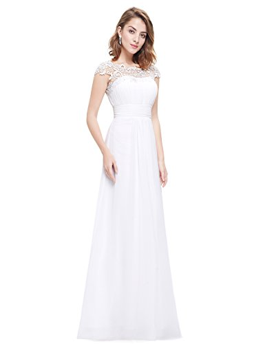 Ever-Pretty - Robe - Taille empire - Femme Bordeux