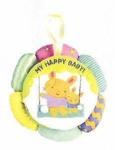 My Happy Baby Cloth Book by Scholastic Cartwheel