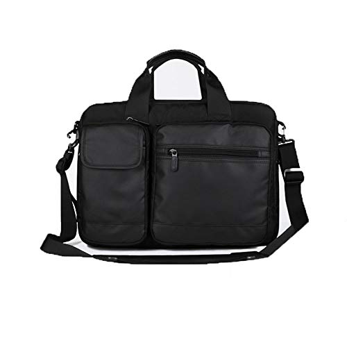 Laptop-Tasche, Business Aktentasche Nylon Wasserdichte Schulter Messenger Bag Unisex