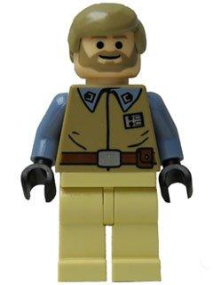 LEGO STAR WARS - sehr seltene Minifigur Crix Madine