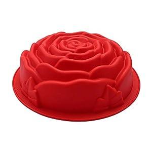 Molde de Silicona Flor Rosa