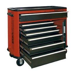 Schublade Roller Schrank (EGA Master 51499-Roller Schrank mit 7Schubladen + Closet (gelb))