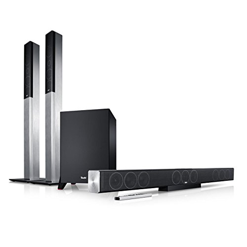 Teufel Cinesystem Trios Easy 5.1-Set L Titan Heimkino Lautsprecher 5.1 Soundanlage Kino Raumklang Surround Subwoofer Movie High-End HiFi Speaker