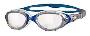 Zoggs Predator Flex (clear/silver/blue)