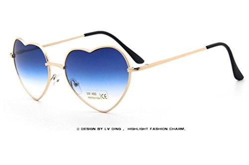 WANGMIN® Lunettes De Soleil New Fashion Square Homme Et Femme Retro Brand Designer Sun Glasses Uv400 , B