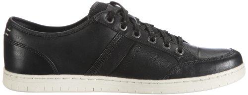 Clarks Photek Lace 20349887, Sneaker uomo Nero (Schwarz (Black Leather))