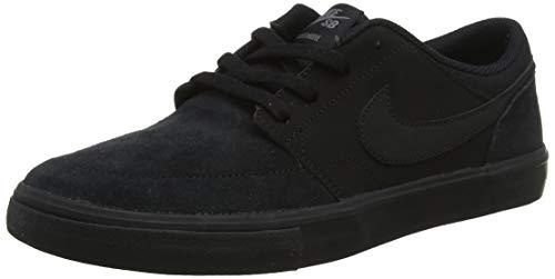Nike Herren Skateboardschuh SB Solarsoft Portmore II Fitnessschuhe, Schwarz Black 005, 44 EU