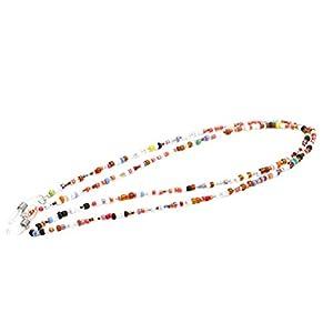 Healifty Perlen Brillenband Anti Rutsch Sicherheitsgläser Halter für Kinder (Zufällige Farbe)
