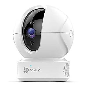 EZVIZ CTQ6C Telecamera Wi-Fi interno PTZ telecamera di sicurezza da interno 1080p compatibile con Alexa e Google Home… 31VLhKtdEjL. SS300