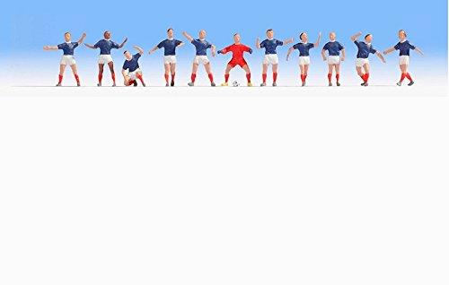 Noch - 15973 - Calibre H0 - Equipe de France de Football - Multicolore