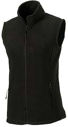 Fleece-Weste, Farbe:Black;Größe:XS XS,Black
