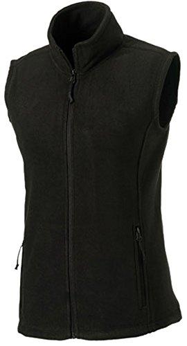 Fleece-Weste, Farbe:Black;Größe:XXL XXL,Black