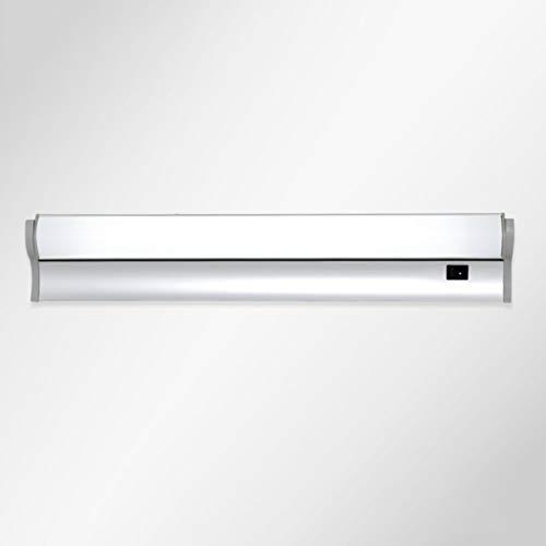 Badezimmerspiegel Beleuchtung LED-Spiegel Licht, eine moderne, minimalistische Badezimmer spiegel Kommode Leuchtstofflampe mit Schalter (Farbe: warmes Licht-12 W/76 cm) - Kompakt-leuchtstofflampen-dimmer-schalter