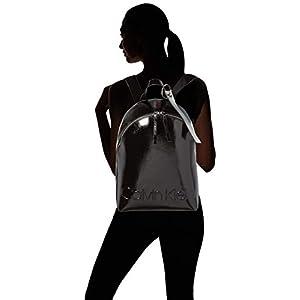 31VLwzV5BEL. SS300  - Calvin Klein - Edged Backpack S, Mochilas Mujer, Negro (Black), 15x38x27.5 cm (B x H T)