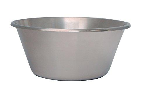 DeBuyer 3250.24 Küchenschüssel, Edelstahl, silber, 20,4 x 11,8 x 11,8 cm