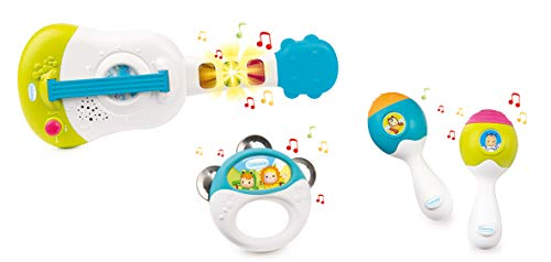 Smoby - 110507 - Cotoons - Coffret Musical - 4 Instruments Inclus