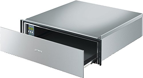 Smeg CTP15X Warming Drawer Built In Cucina 15cm Height Stainless Steel