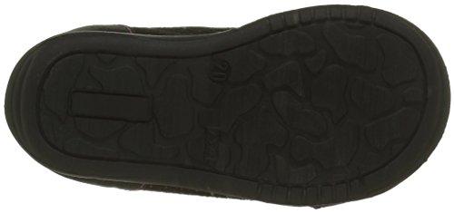 GBB Noemie, Chaussures Premiers Pas Bébé Fille Noir (11 Vte Noir/Fuchsia Dpf/Kezia)