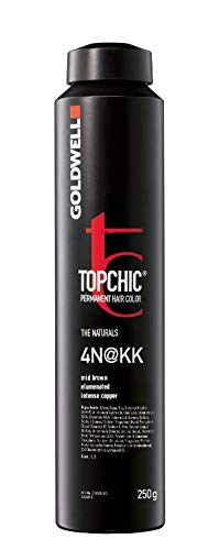 Goldwell Topchic Elumenated Depot Haarfarbe 4N KK, 1er Pack (1 x 250 ml)