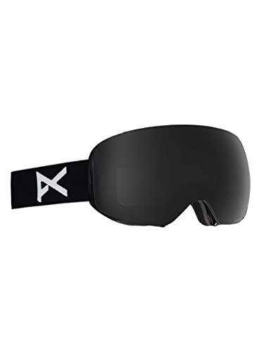 Anon Herren M2 Snowboardbrille, Black/Polar Smoke, One Size