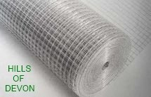 Hills Of Devon Aviary Welded Wire Mesh 36 X 1 2 X 1 2 X 1 0mm X 30m Buy Online In China At Desertcart Productid 101296325
