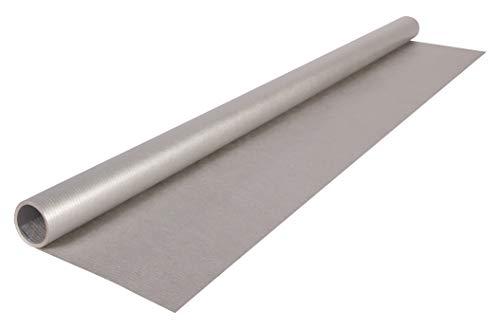 Clairefontaine 95776C Rolle (silberfarbenes Kraftpapier, 3 x 0,70 m, 60 g, PEFC, ideal für Ihre Bastelprojekte) 1 Stück silber