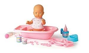 Falca Toys - 40515 - Poupon - Bébé Pipi + Baignoire + Douche