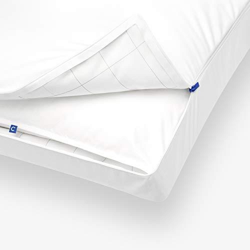 Casper Kopfkissen 80 x 80 – Kissen risikofrei Probeschlafen – Nackenstützkissen waschbar,  atmungsaktiv und kühlend