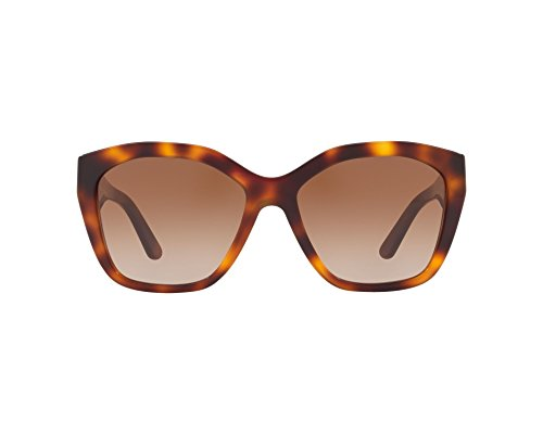 BURBERRY Damen 0BE4261 331613 57 Sonnenbrille, Braun (Light Havana/Browngradient), - Burberry Light