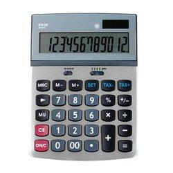 office-depot-tischrechner-at-814-13-25-x-18-4-x-3-4-cm-silber-grau