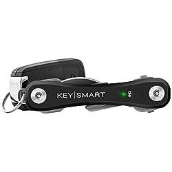 KeySmart KS 411-BLK - Funda (Funda de Llaves, Negro, Policarbonato, 100 mm, 21 g, Caja)