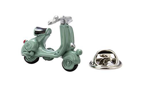 Knighthood Herren Roller Motorrad Revers Pin Brosche Hellgrün