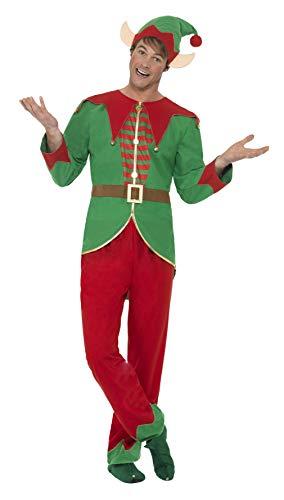Smiffys 46752M - Herren Elfen Kostüm, Hose, Oberteil, -