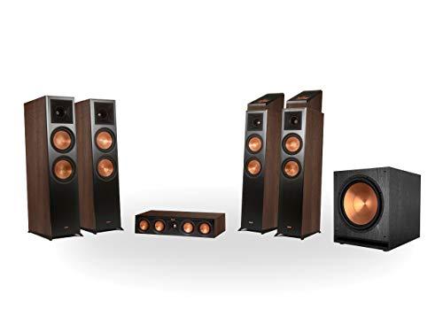 Preisvergleich Produktbild Klipsch RP-8060FA 5.1.4 Dolby Atmos Home Theater System Walnuss