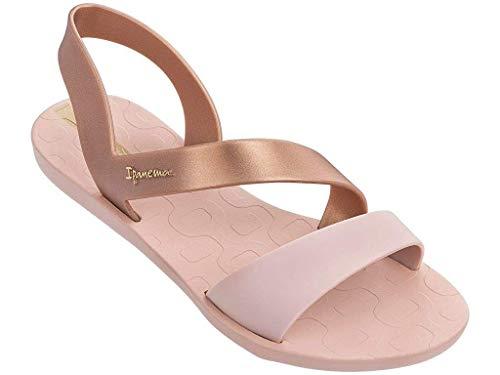 Ipanema Women's Vibe 21 Plastic Slip On Sandal Rose Matt-Rose-5 Size 5
