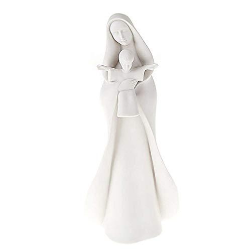 Holyart Virgen con Velo y niño Francesco Pinton, 33 cm (13 Inc.)