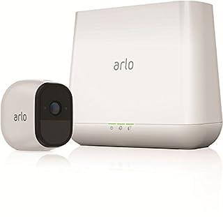 Arlo Pro Smart Home 1 HD-Überwachungskamera und Sicherheitssystem (100% kabellos, 720p HD, 130 Grad Blickwinkel, WLAN, Nachtsicht, Indoor/Outdoor 100 dB Sirene) weiß, VMS4130 (B01LR8PG66)   Amazon price tracker / tracking, Amazon price history charts, Amazon price watches, Amazon price drop alerts
